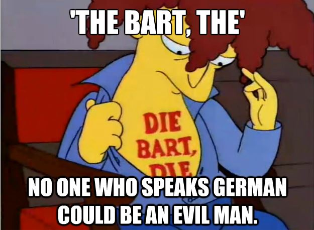 The Bart The Done